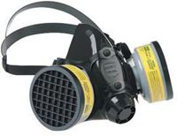 Picture of 770030L - North® by Honeywell Large Black Silicone Half Mask 7700 Series Facepiece