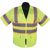 Picture of MS539 - Lime Premium High Viz Vest