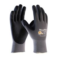 Picture of 34-874 -  MaxiFlex® Ultimate™  Seamless Knit Nylon / Lycra Glove with Nitrile Coated MicroFoam Grip on Palm & Fingers (one pair)
