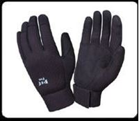 Picture of 77875 - Cordova PIT PRO Black Double Palm Glove (one pair)