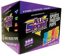 Picture of All Sport Hydration Freezer Pops,  Sports Drink Variety (144 per case)